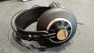z review akg k240 vintage 600ω rare like new bold text