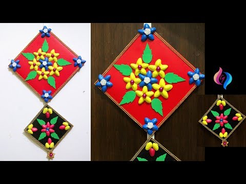 waste-material-wall-hanging-projects---best-use-of-waste-idea-room-decor---easy-crafts-ideas-at-home