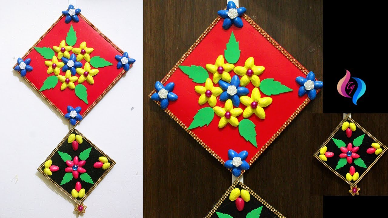 Waste Material Wall Hanging Projects Best Use Of Waste