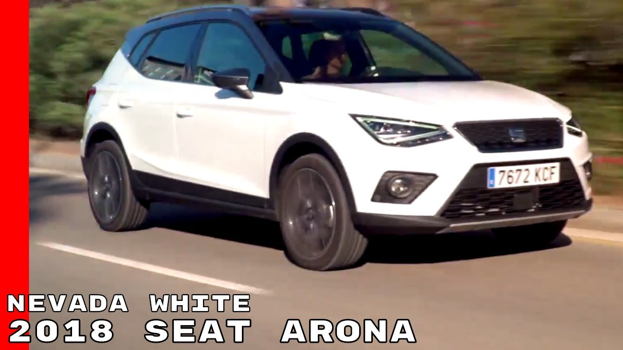 2018 seat arona nevada white test drive exterior interior youtube. Black Bedroom Furniture Sets. Home Design Ideas