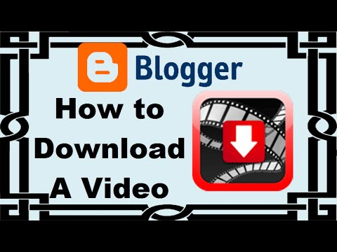 How to download a video from blogspot using Google Chrome [Tutorial]