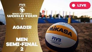 Agadir 1-Star 2017 - Men semi final 2 - Beach Volleyball World Tour thumbnail