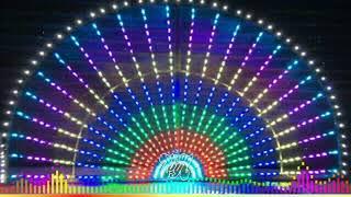 Pixel LED lighting With Songs 🌹 உன் ரெட்டை ஜடை கூப்பிடுது முத்தம்மா
