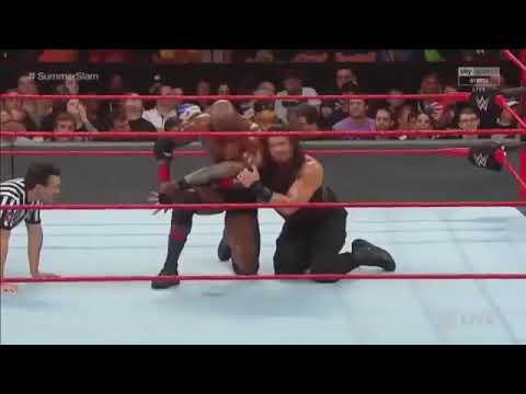 Full Fight Match Roman Reigns Vs Bobby Lashley