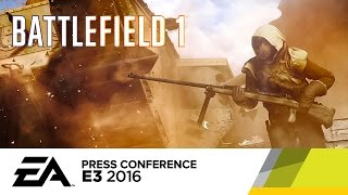 Bayonet Charge Melee in Battlefield 1 - Official E3 2016 Gameplay