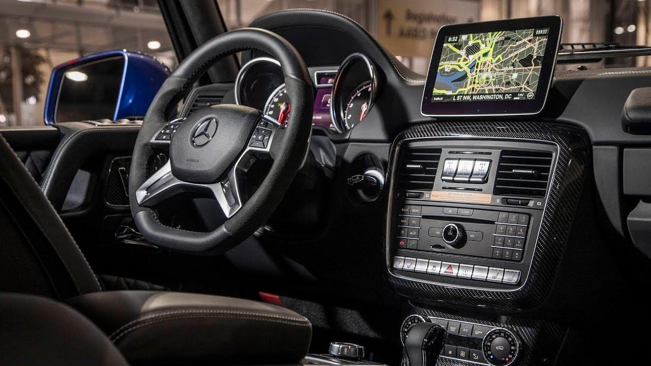 2018 Mercedes Benz G550 4x4 Squared Interior Youtube