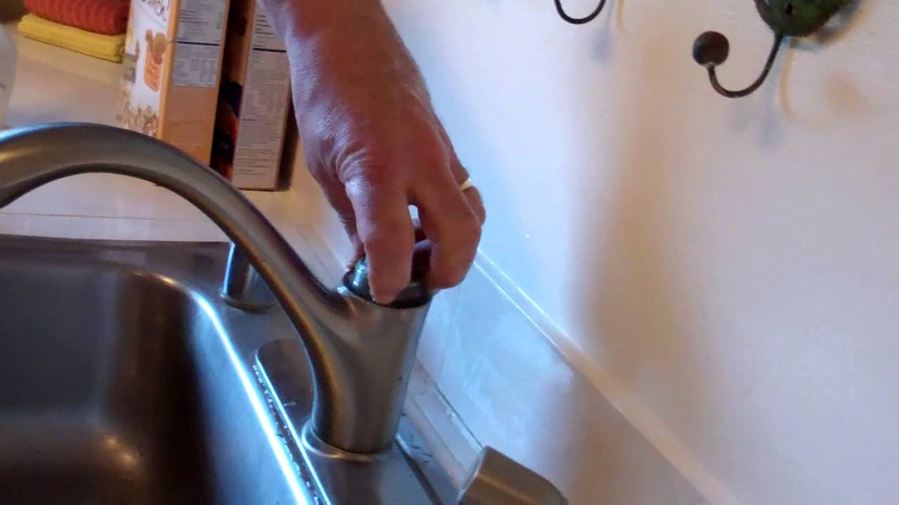 superb Leaking Kohler Kitchen Faucet #4: Leaking Kohler Kitchen Faucet Part 2 - YouTube