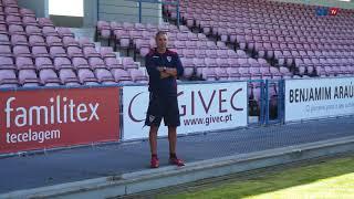 Jorge casquilha faz a antevisão do jogo  Gil Vicente - Benfica B