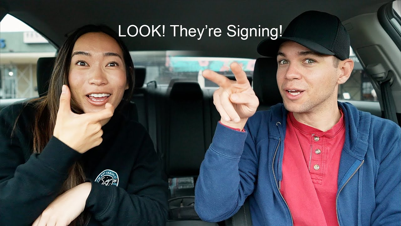 Is it Rude to Stare At Deaf People Signing?
