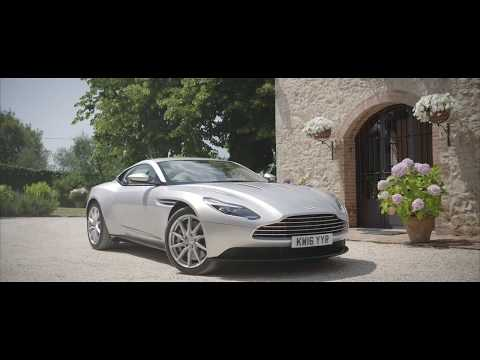 Getting started, from entry to exit | Aston Martin DB11
