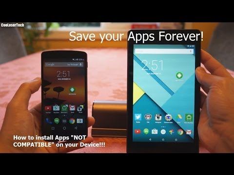 How To Install Incompatible Apps On Android - APK Extractor