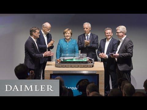 Grundsteinlegung zweite Batteriefabrik bei Daimler-Tochter ACCUMOTIVE