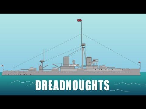 First World War tech: Dreadnoughts