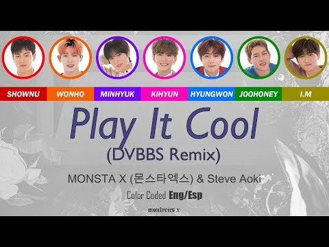 MONSTA X (몬스타엑스) - Play it Cool (English Version) (DVBBS Remix) (Color Coded Eng/Esp Lyrics) indir