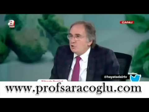 Prof. Dr. İbrahim SARAÇOĞLU Hayata Dair Kalp Ve Damar Hastalıkları Için Kür Tarifi