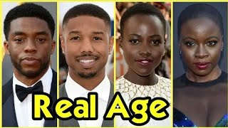 Black Panther Cast Real Age 2018