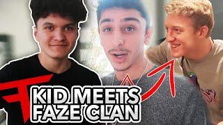 Little Brother Meets FaZe Clan!