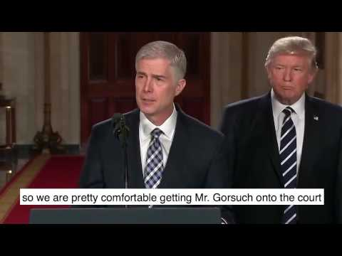 Urge Your Senator to Nominate Judge Gorsuch
