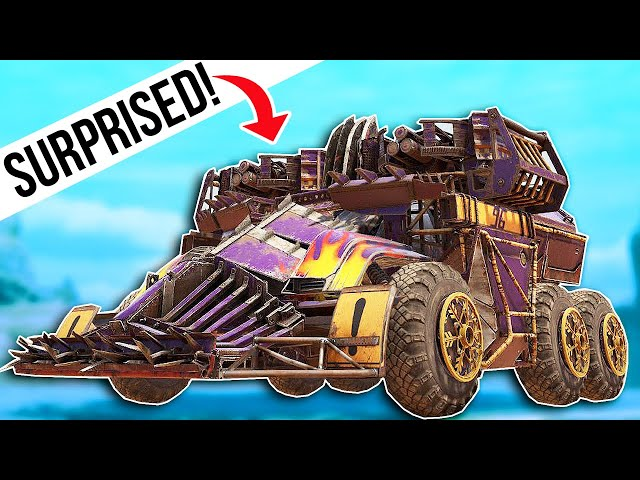 Wow... These Builds - Crossout