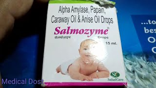 Salmozyme Drops. | Use | Compostion | Side effect | Price | Doages | Full hindi reviews