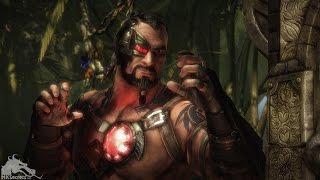 Mortal Kombat X: All Kano Intro Dialogue (Character Banter) 1080p HD