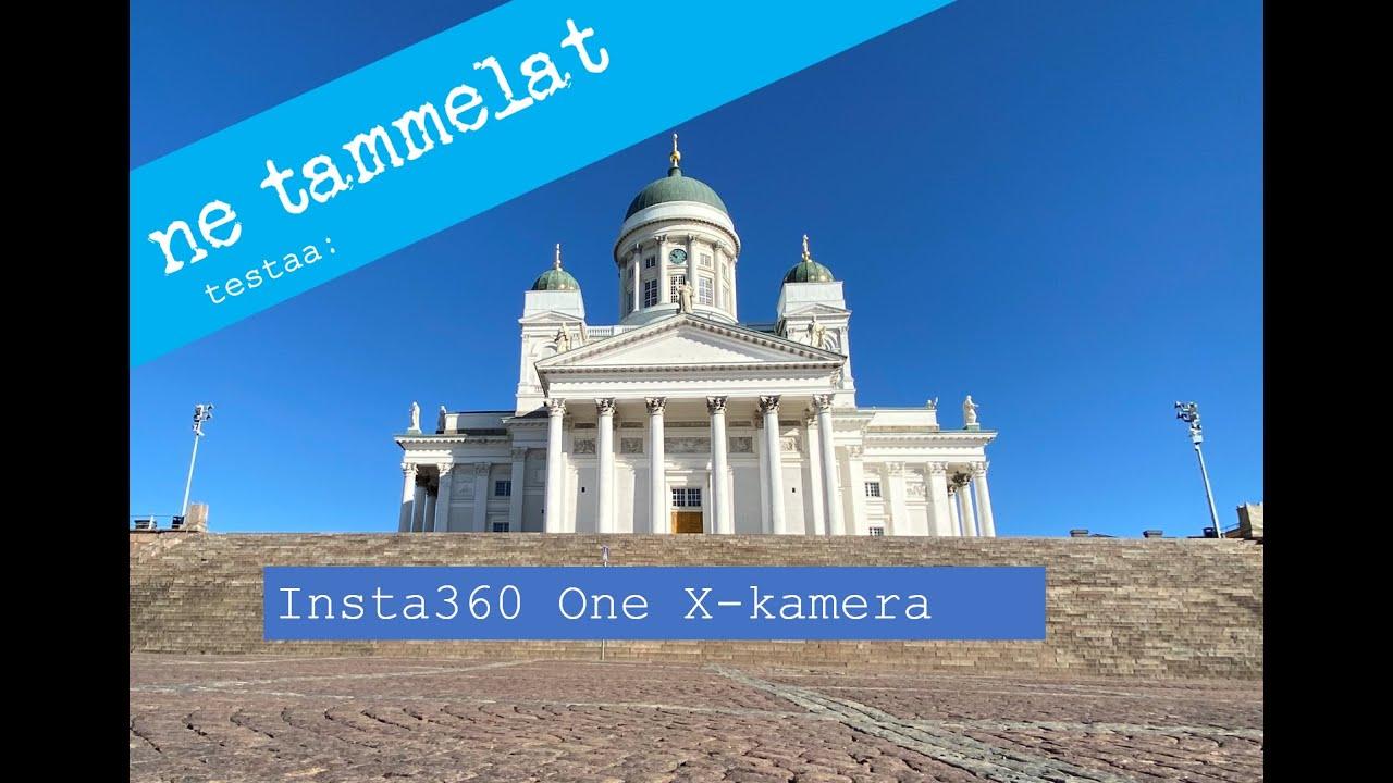 Helsingin Tuomiokirkko ja Senaatintori (Insta360 One X 5k) - 360