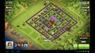 Ataques En clash of clans #1 (250k )