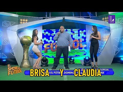 Claudia Amador y Brisa Olivera-El show del fútbol