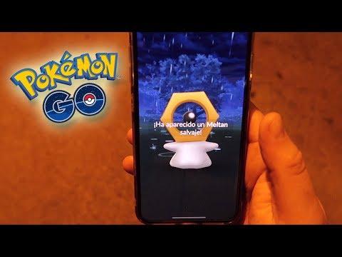 ¡CAPTURO MELTAN! NUEVO POKÉMON MÍTICO en Pokémon GO!! [Keibron] thumbnail