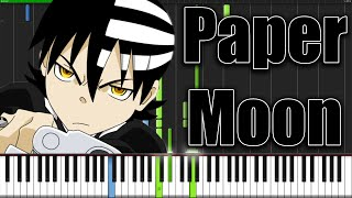 Paper Moon - Soul Eater (Opening 2) [Piano Tutorial] (Synthesia)