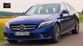 2019 Mercedes-Benz C220d Estate Exterior Interior Design & Driving Footage HD