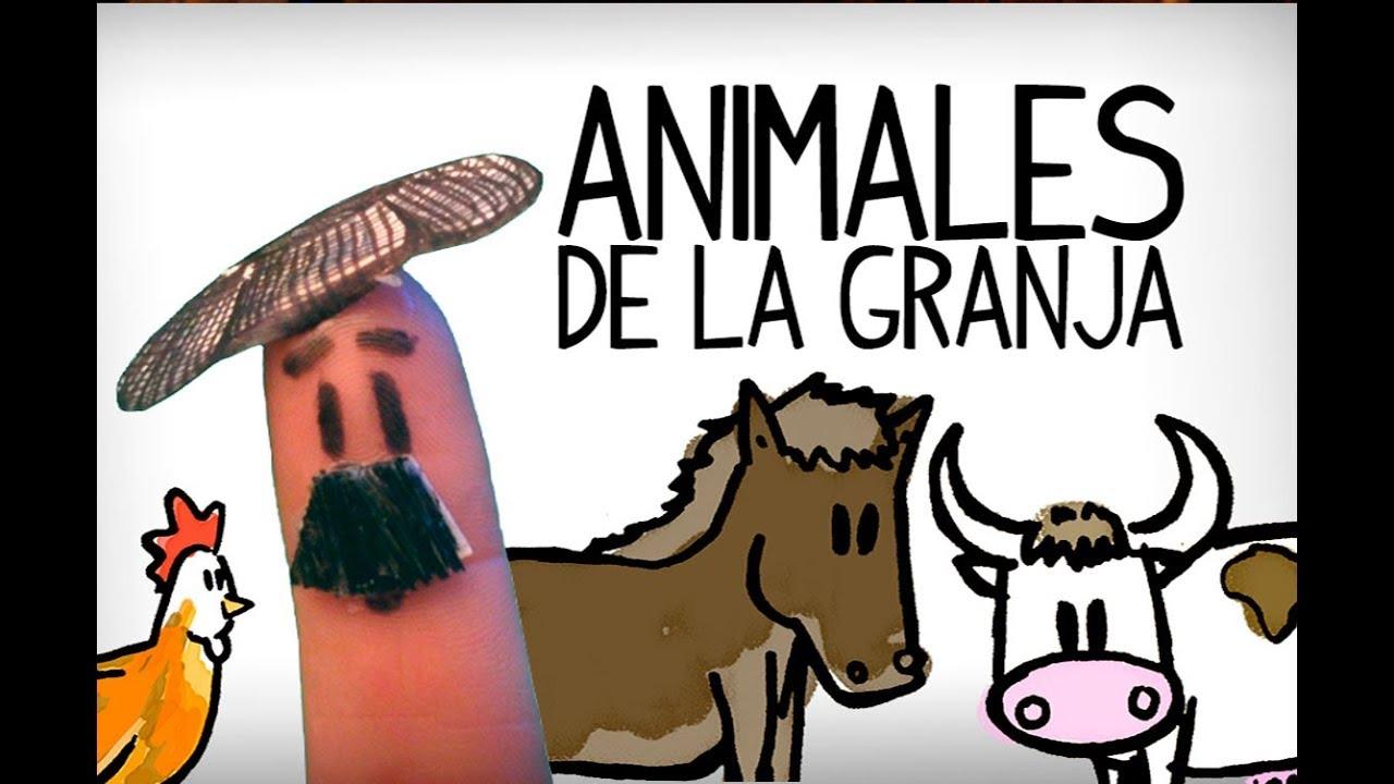 Los animales en español, en la granja - Aprender español