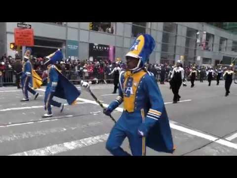 Thanksgiving Day Parade~NYC~2014~Bahamian Marching Band~NYCParadelife