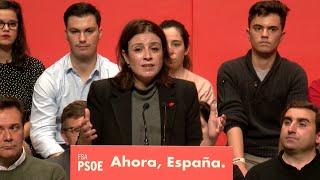 """Lastra: """"Los vamos a poner en su sitio, con un presidente socialista"""""""