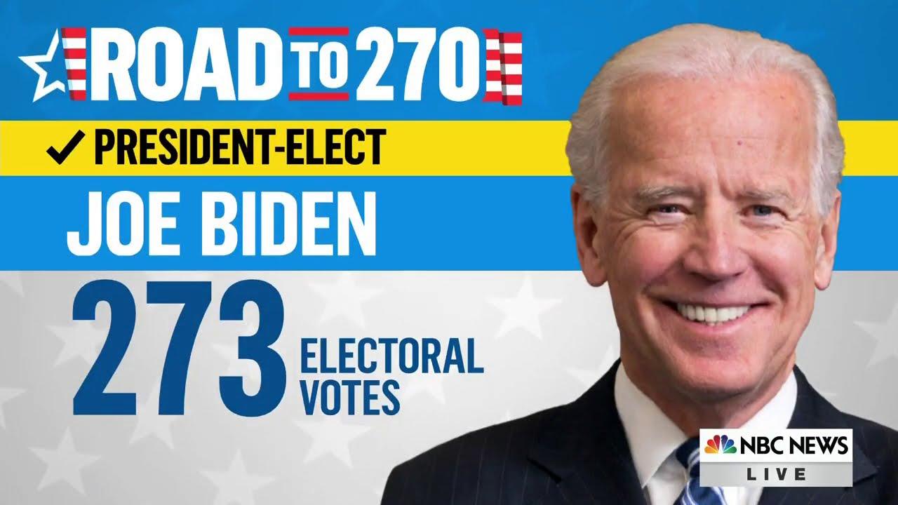 Download NBC News Projects Joe Biden Will Be The President-Elect | NBC News
