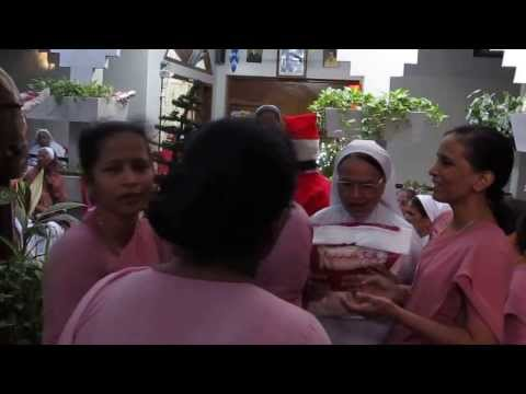 Christmas celebration in the convent of St. Thomas Hospital
