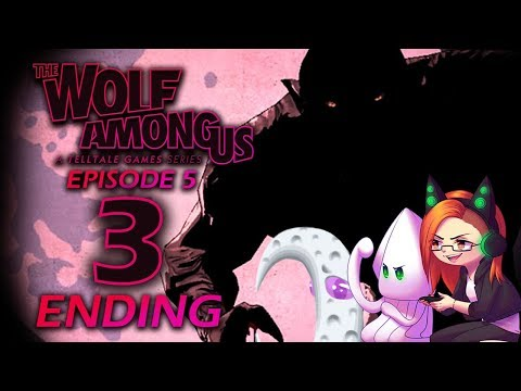 Mother & Daughter Play: The Wolf Among Us -CROOKED MAN FATE & BEST GLITCH ENDING ~Episode 5: Part 3~