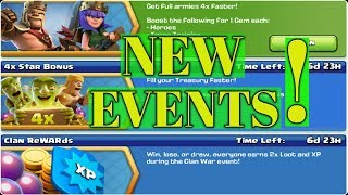New  Events Are arrived !
