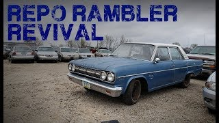 Impound Lot Revival! AMC Roadworthy Again After 30 Years!