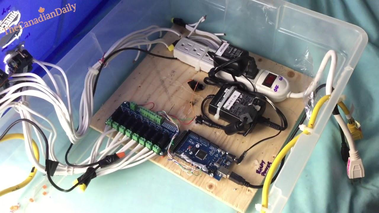 Arduino Controller for Vixen Christmas Lights - YouTube