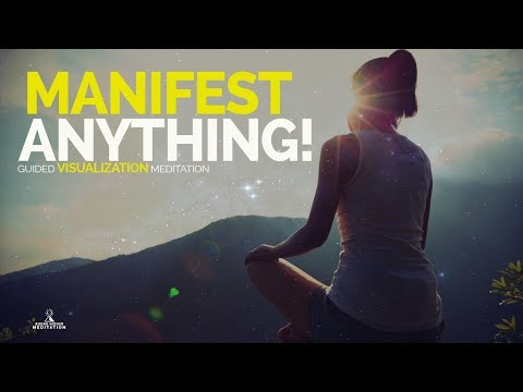 Visualise and Manifest Anything! Guided Meditation (Law of Attraction, Creative Visualisation)ASMR