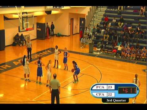 CFA Varsity Girls vs. Fayetteville Christian Academy