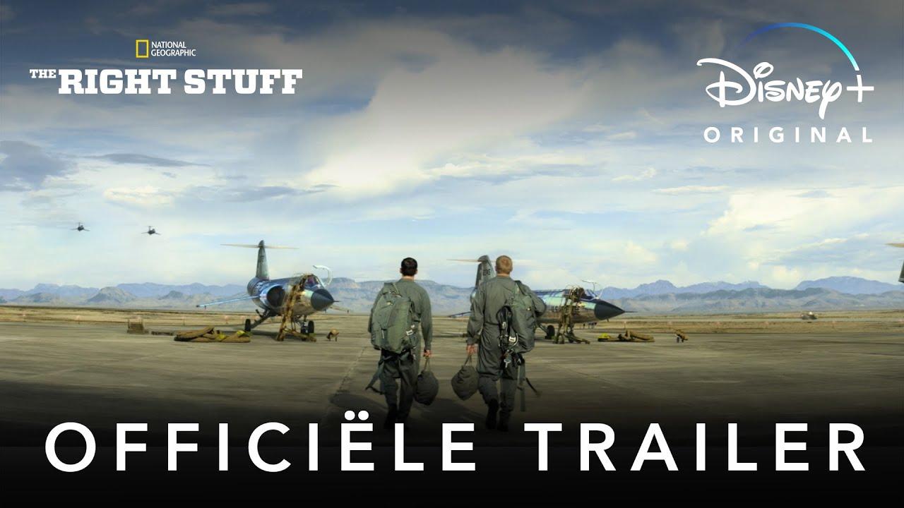 The Right Stuff trailer op Disney Plus België