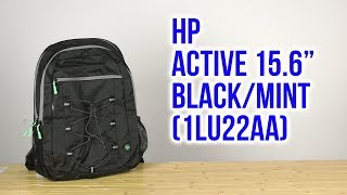 Розпакування HP Active 15.6 Black/Mint 1LU22AA