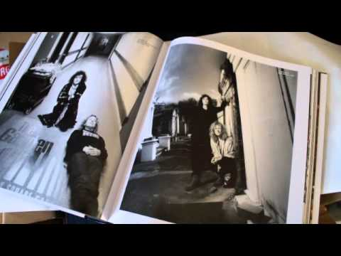 Jimmy Page book opening