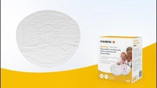 Video: Medela Safe&Dry Ultra õhukesed ühekordsed rinnapadjad, 30 tk