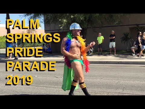 Palm Springs Pride Parade 2019