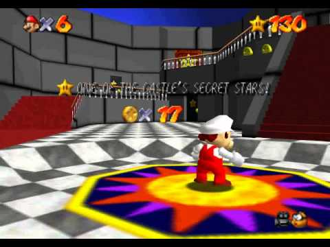 My Earliest SM64 Hack