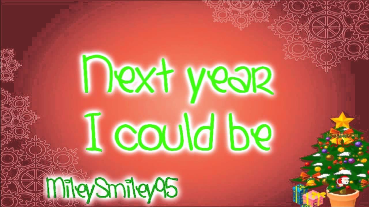 Taylor Swift Santa Baby With Lyrics Youtube