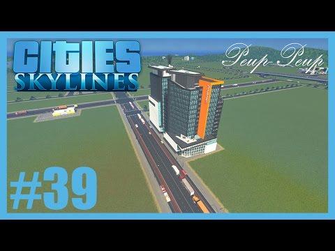 (FR) Cities Skyline #39 : Préparation du Quartier Financier